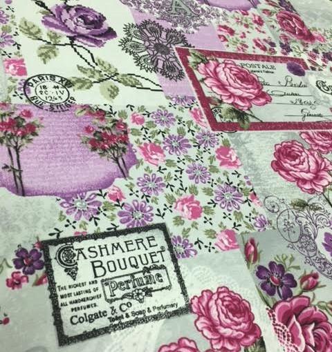 Tkanina bawełniana Angielskie Kwiaty
