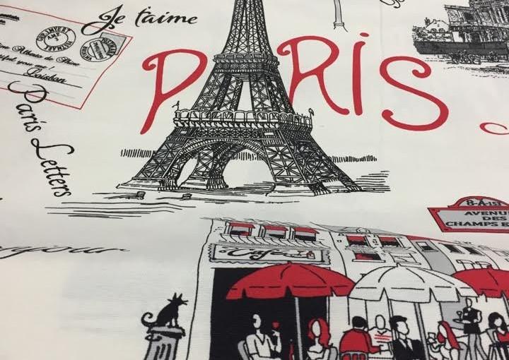 Tkanina bawełniana Paris 150 cm